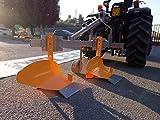 Aratro bivomere per trattori Medio-Bassa Potenza - DDP-30