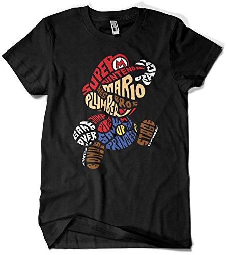 Camisetas La Colmena 130-Parodie Mario Bros T-Shirt - Bros Juegos Mario De
