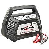 ANSMANN ALCT 6-24/10 Ladegerät Autobatterie 6V, 12V und 24Volt Bleiakkus, Bleilader Werkstattladegerät für KFZ, Roller, Motorrad, Boot