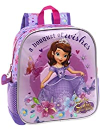 2118f7f7d Disney 2412051 Sofia Wishes Mochila Infantil, 5.75 litros, Color Morado