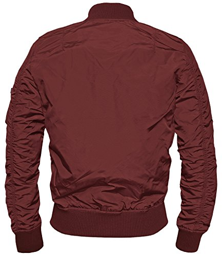 Alpha Industries MA-1 TT Fliegerjacke Burgundy