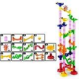 iodvfs DIY Costruzione Labirinto Palla Pista Perline Corsa Costruire Giocattolo Gioco Giocattolo per Bambini