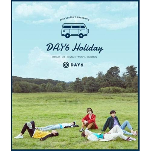 Price comparison product image DAY6 2019 SEASON'S GREETINGS CD+Calendar+Diary+Sticker+P.Card+Polaroid+Button+Tracking Number K-POP SEALED