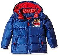 Disney Boy's Cars Rally Long Sleeve Raincoat, Blue, 8 Years