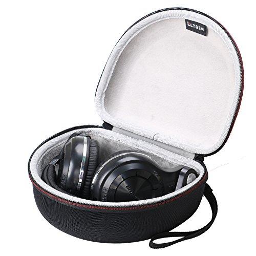LTGEM EVA Hard Case for Bluedio T2 T2S T2+ Turbine Wireless Bluetooth Stereo Ear Headphones,Travel Carrying Portable Storage Bag Eva Carrying Case