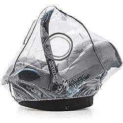 Habillage pluie confort universel pour tous types de sièges-autos bébé (Bébé Confort, Cybex, Recaro) -Bonne circulation de l'air, fenêtre de contact, montage facile, ouverture de transport, sans PVC