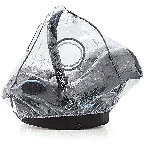 Universal comodidad Protector Lluvia para portabebés (por ejemplo maxi-cosi/CYBEX/Römer) | Buena circulación del aire, verschließbares Contacto de ventana, apertura de intervención para ASA, libre de PVC