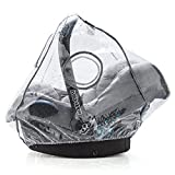 Universal Infant Car Seat Raincover (e.g. Maxi Cosi / Cybex / Cosatto / Obaby / Britax) | Optimum Air Circulation, Closable Window for Easy Contact with your Baby, PVC-free - Zamboo - amazon.co.uk