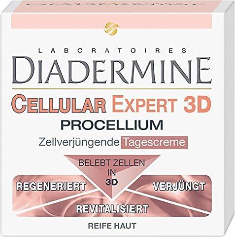 Diadermine Cellular Expert 3D Procellium Zellregenerierende Tagescreme, 1er Pack (1 x 50 ml) (Cellular Tagescreme)