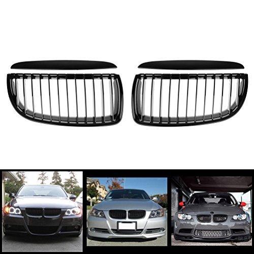 i-shop negro Euro frente capucha riñón Pre-Facelift rejilla–par