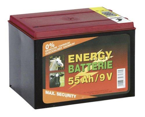 Preisvergleich Produktbild Kerbl 9V Zink - Kohle Batterie für Weidezaungeräte,  Trockenbatterie,  55 Ah