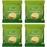 Bansiram Roasted Crunch Methi Khakhra (Set of 4 - Each 180g) - 720g
