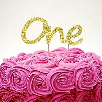 Birthday Cake Topper Dark Pink LissieLou