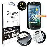 [2 Pack] Acer Liquid Z330 Schutzfolie, MYTHOLLOGY Gehärtetem Glas Hartglas Screen Protector Schutzfolie Folie Bildschirmschutz für Acer Liquid Z320 Z330 M330