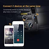 Mpow Bluetooth 4.1 Empfänger Drahtlos Bluetooth Receiver Tragbare Bluetooth Adapter Audiogeräte für KFZ Auto Lautsprechersystem mit Stereo 3.5 mm Aux Input- Schwarz - 5