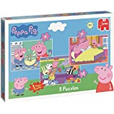 Peppa Pig Trio - 3 rompecabezas en una caja (6, 9 y 12 piezas)