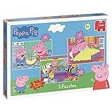 Jumbo Peppa Pig 3in1 Puzzle Pack - Puzzles (Floor puzzle, Cartoons, Preschool, Peppa Pig, 3 yr(s), Boy/Girl)