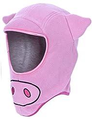 Trespass - Gorro estilo pasamontañas con diseño de cerdo para niños