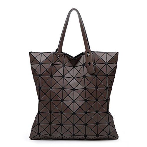 Damen Nashörner Handtasche Mode Persönlichkeit Gezeiten Lässig Damen Schulterbeutel Farbe Draußen Einfach Luxus Gehobene Tasche Brown