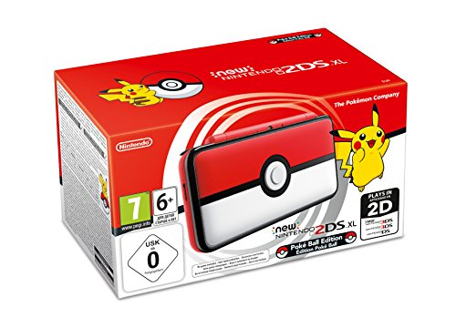 Nintendo New 2DS XL - Consola Poké Ball Edition