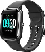 YAMAY Smartwatch Orologio Fitness Uomo Donna Smart Watch Fitness Tracker Cardiofrequenzimetro da Polso Contapassi Orologio Sp