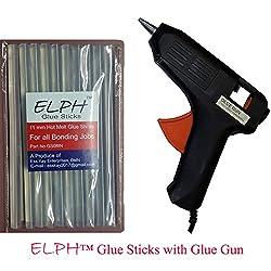 ELPH 11 mm Glue Stick 1 Piece + 40 Watt Hot Melt Glue Gun