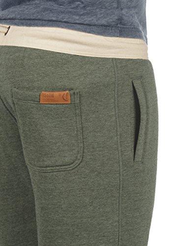 SOLID TripShorts Herren Sweat-Shorts kurze Hose Sport-Shorts aus hochwertiger Baumwollmischung Climb Ivy Melange (8785)