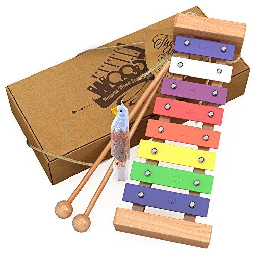 aGreatLife Xilófono de Madera para Niños