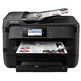 Epson WorkForce WF-7720DTWF Print/Scan/Copy/Fax A3 Wi-Fi Printer, Amazon Dash Replenishment Ready