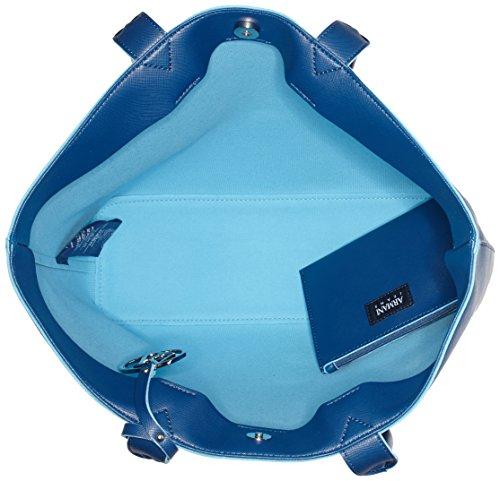 Armani - 922535CC856, Borsa shopper Donna Blau (OCEAN BLU 09934)