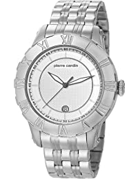 Pierre Cardin Herren-Armbanduhr XL Parangon Analog Quarz Edelstahl