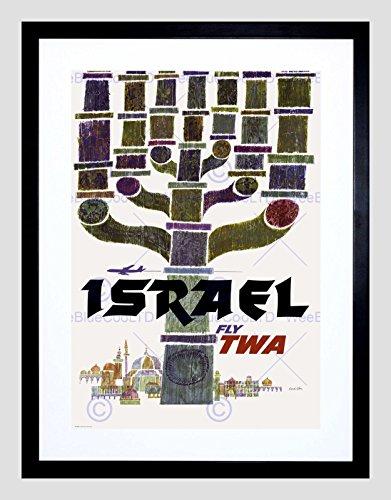 travel-israel-twa-menorah-jerusalem-airline-vacation-ad-framed-art-print-b12x1597