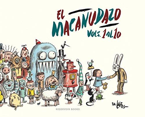 El Macanudazo: Vols. 1 al 10 (RESERVOIR GRÁFICA)