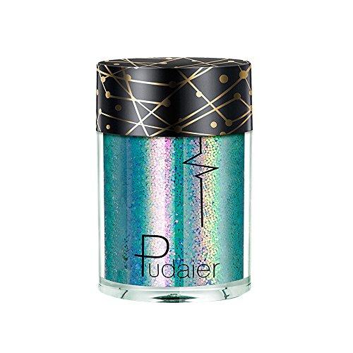 BHYDRY Mehrzweck-Shimmer-Glitter-Lidschatten-Pulver-Palette (Quinn Harley Korsett)