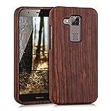 kwmobile Holz Hülle für Huawei G8 / GX8 Case Rosenholz -