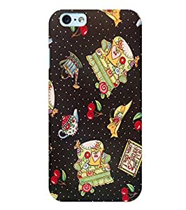 Citydreamz Cheeries Hard Polycarbonate Designer Back Case Cover For Apple Iphone 5/5S