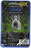 Naturediet Chicken with Vegetables and Rice Dog Food Tray, 18 x 390 g