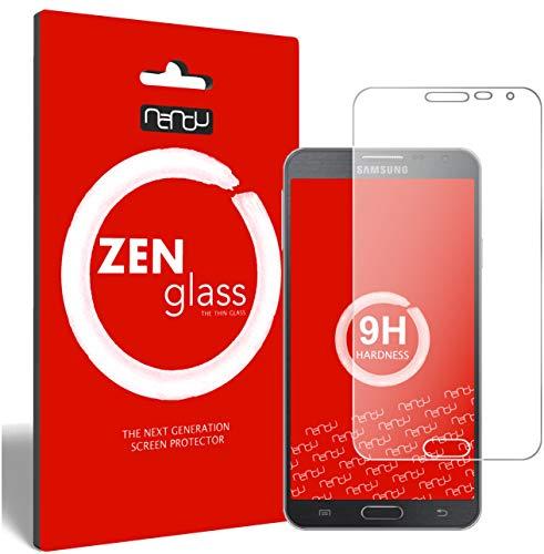 ZenGlass (2 Stück Flexible Glas-Folie für Samsung Galaxy Note 3 Neo Panzerfolie I Bildschirm-Schutzfolie 9H