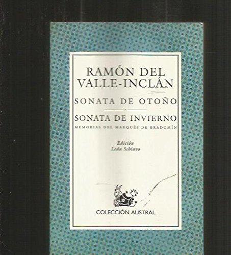 Descargar Libro Sonata de otoño / sonata de invierno (Nuevo Austral) de Ramon Maria Del Valle-Inclan