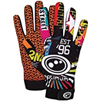 Optimum Boys Thermal Velocity Rugby Gloves, Multicolored (Street II), Small