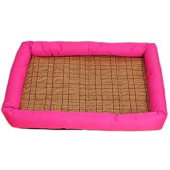 JUNGEN Bed Mat Tapis de Chien Pet Nid Puppy Kitten Bed Mat Rectangle Cushion Chiot Chambres Sleeping Forme de Sac de Couchage