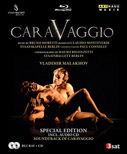 Preisvergleich Produktbild Moretti / Bigonzetti: Caravaggio - Special Edition inkl. Audio-CD (Berlin 2008) [Blu-ray]