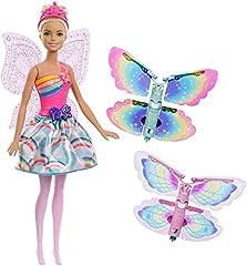 Idea Regalo - Barbie- Fatina Magiche Ali dal Mondo di Dreamtopia, FRB08