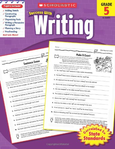 scholastic-success-with-writing-grade-5
