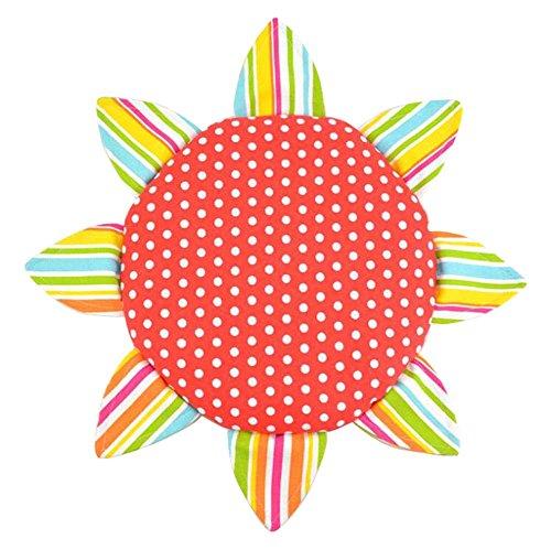 (Kinder Tuch Weiche Frisbee Leinwand Handgemachte Frisbee Outdoor Spielzeug-B)