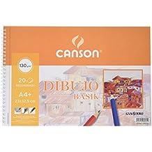 Guarro Canson 726479 - Bloc A4, 20 hojas y recambio, 130 gr