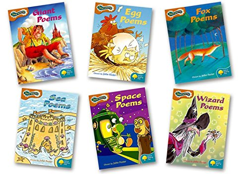 Oxford Reading Tree: Levels 8-9: Glow-worms: Pack (6 books, 1 of each title) por John Foster