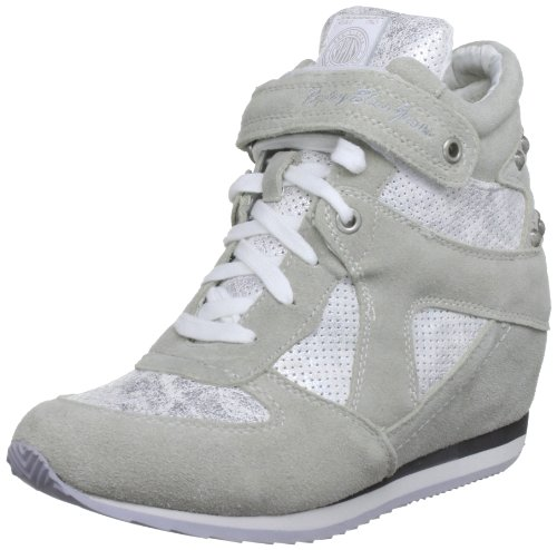 REPLAY - Anona, Sneaker Donna Bianco (Weiß (White/Silver))