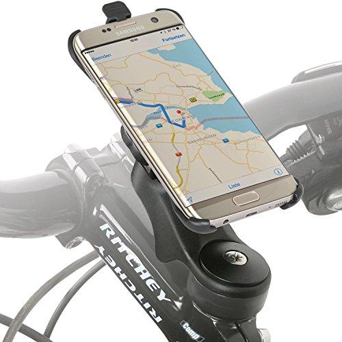Wicked Chili Fahrradhalter Vorbau/Ahead Halter für Samsung Galaxy S7 Edge (G935F) (MTB/Rennrad, Made in Germany, QuickFix, 20{4edfe40b68e7c2600f6cad5887da312f81261df4b24c6d0afa750c598a0d8943} Carbon), S7 Edge Vorbau Halterung