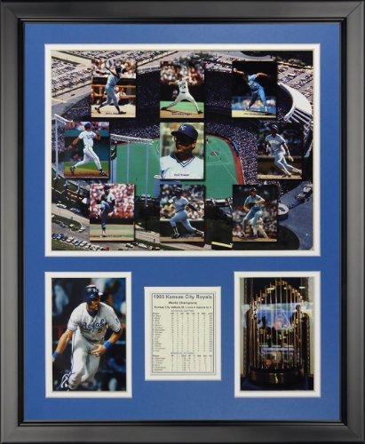 Legenden Sterben Nie 1985Kansas City Royals-Mosaik gerahmtes Foto Collage NE, 40,6x 50,8cm